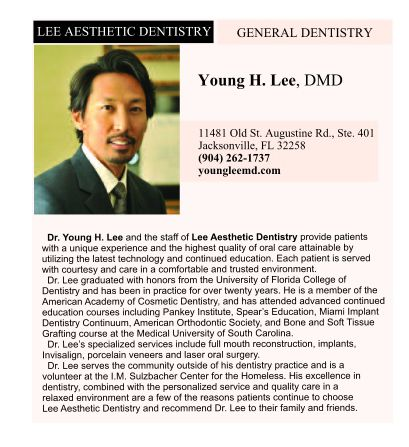 Dr. Lee in the Jacksonville Magazine Article